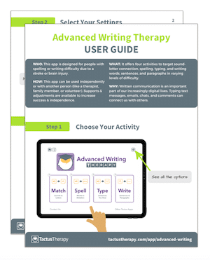 Advanced Writing User Guide preview