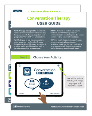 Conversation User Guide Tips preview