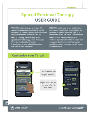 Spaced Retrieval User Guide Tips preview