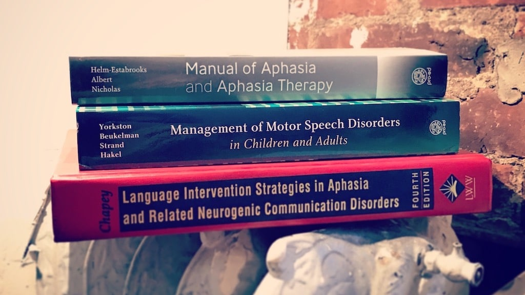 10 Must-Have Textbooks for Adult Speech Therapy
