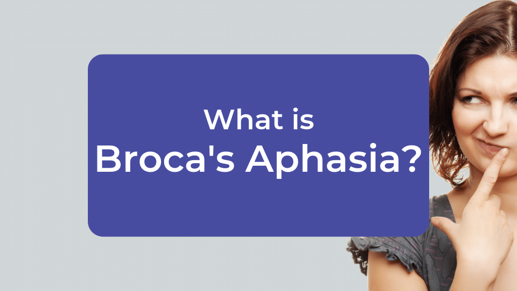What is Broca's Aphasia?