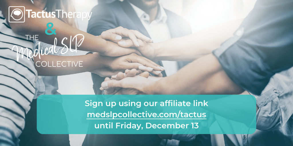 The Medical SLP Collective is open for enrolment now for continuing education and community.