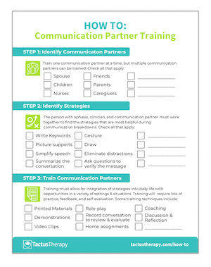 How To CPT communication partner training preview